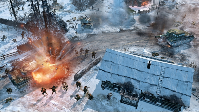 Coh 2 Case Blue : Buy company of heroes 2 for mac and linux feral store